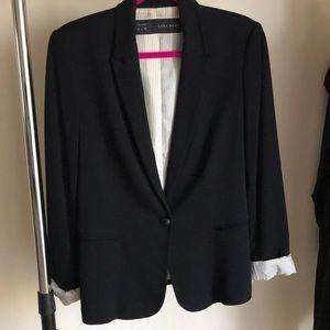 Zara basic blazer.